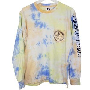Exist Panama City Beach Tie-Dye Long Sleeve Tee